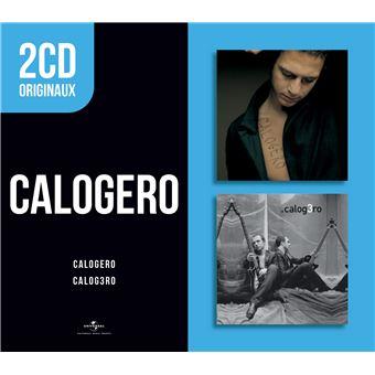 2 CD Originaux : Calogero Calog3ro