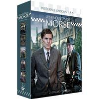 Coffret Les Enquêtes de Morse Saisons 1 à 5 DVD