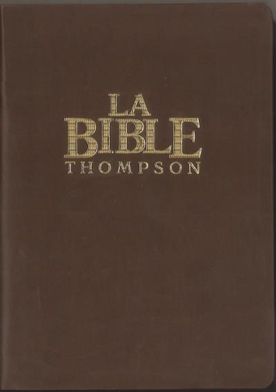 Bible Colombe - MacArthur