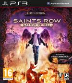 Saints Row Gat Out of Hell First Edition PS3