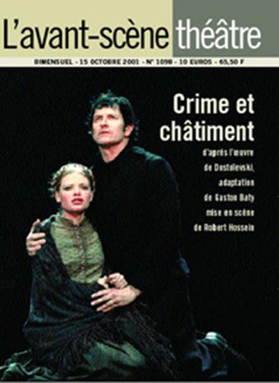 Crime et Chatiment - Avant Scene - 01/01/2001
