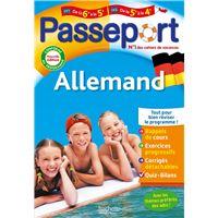 Passeport Cahier de vacances 2020 - Allemand de la 6e à la 5e ou de la 5e à la 4e