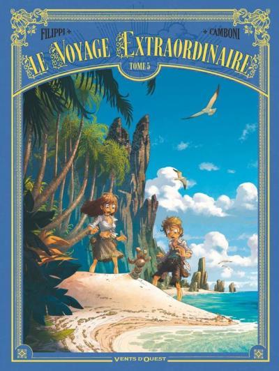 Le Voyage extraordinaire - Tome 05 - Cycle 2 - Les Îles mystérieuses 2/3 - 9782331030130 - 6,99 €