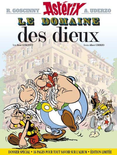 Astérix - Le Domaine des dieux - Edition limitée - 16 pages supplémentaires - 9782014001501 - 7,99 €