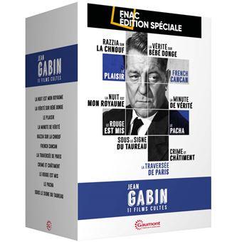 Coffret Jean Gabin Edition spéciale Fnac DVD