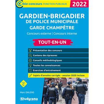 Gardien-brigadier de police municipale