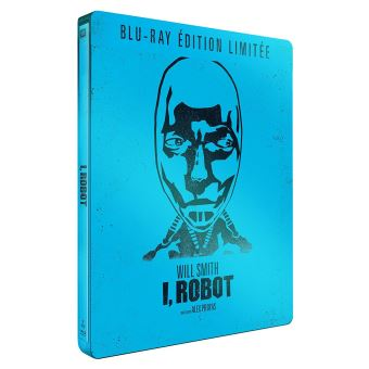I, Robot Edition Limitée Steelbook Blu-ray