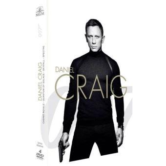 James BondCoffret Daniel Craig La Collection James Bond 007 4 Films DVD
