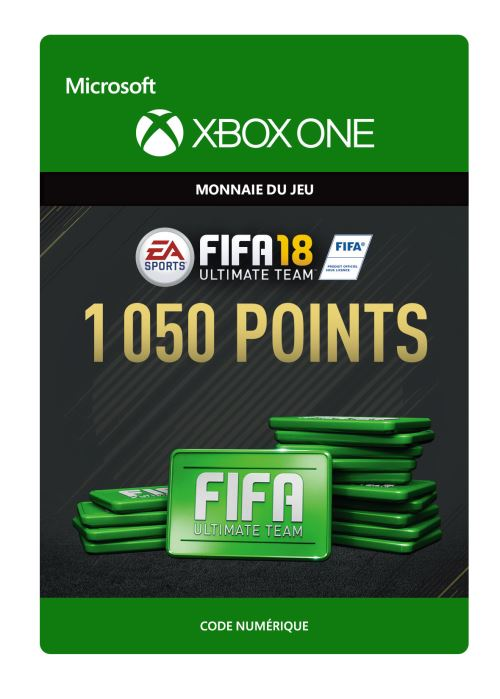 FIFA 18 : Ultimate Team FIFA Points 1050 - Code de télechargement - Xbox One