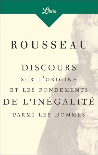 Discours sur l'origine et les fondements de l'inégalité parmi les hommes - 9782290163092 - 1,99 €