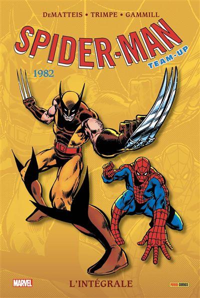 Spider-Man Team-up: L'intégrale T45 (1982)