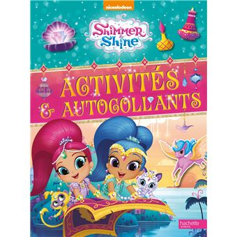 Shimmer and ShineShimmer ans shine activites et autocollants