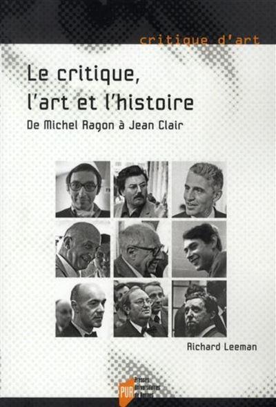 Critique l art et l histoire