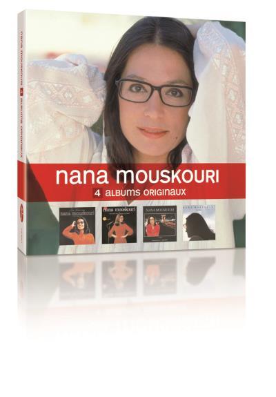 Relativ 4 Albums originaux Live - Nana Mouskouri - CD album - Achat & prix  VW52