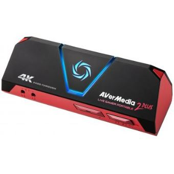 Avermedia 2 plus - plug and play game streaming capture box