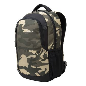 Targus Sports Backpack Set For School Green Camo TSB96302EU