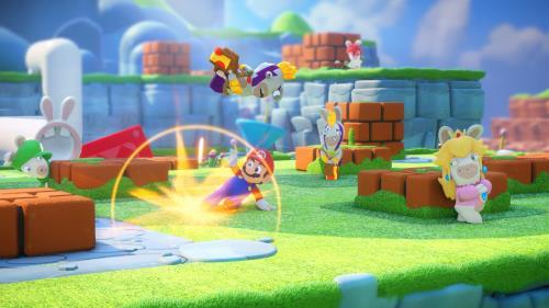 50a1be09a97 -17% sur Mario et Les Lapins Crétins Kingdom Battle Nintendo Switch - Jeux  vidéo - Achat & prix | fnac