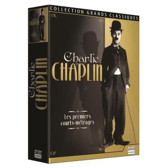 Charlie Chaplin, Coffret 5 films DVD