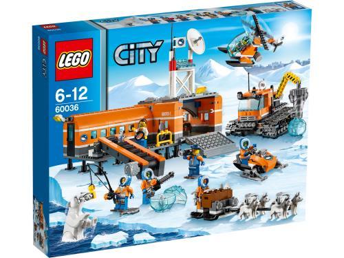 LEGO® City 60036 Le camp de base arctique