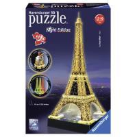 3D-puzzel Eiffeltorenavond Ravensburger 216 stuks
