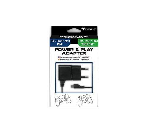 Adaptateur Subsonic Power et Play pour PS4 et Xbox One
