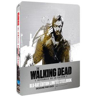 The Walking DeadThe Walking Dead Saison 2 Edition limitée Steelbook Blu-ray