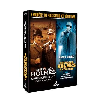 Sherlock HolmesSHERLOCK HOLMES A NEW YOR-3 DVD-VF