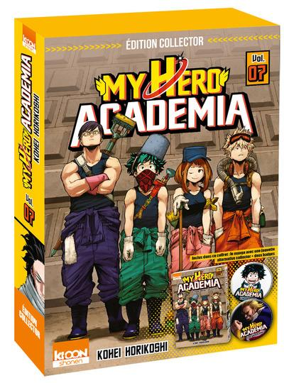 My Hero Academia - Edition collector Tome 07 : My Hero Academia T07 - Edition collector