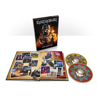The Book Of Souls Live Chapter Coffret Edition Deluxe