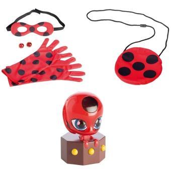 Set d'accessoires de déguisement Deviens Marinette et Lady Bug Bandai