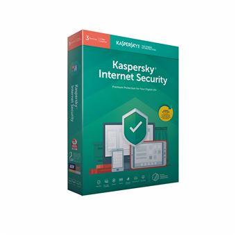 Software Kaspersky Internet Security 2019 Meerdere Apparaten 3 Gebruikers FR/NL