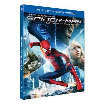 Spider-ManThe Amazing Spider-Man : le destin d'un héros Combo Blu-Ray 3D/2D + DVD