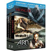 Mongol - Beowulf, la Légende Viking - Arn, Chevalier du Temple - Coffret Blu-Ray