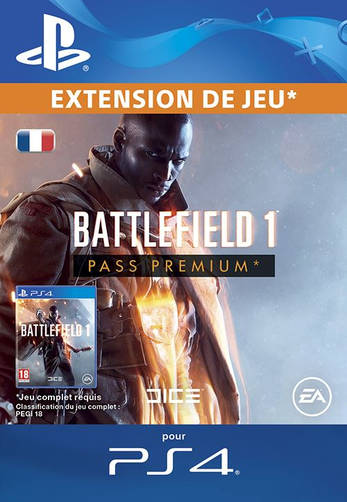 Battlefield 1 Premium Pass PS4 code de téléchargement