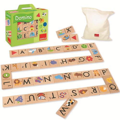 Dominos Alphabet Goula