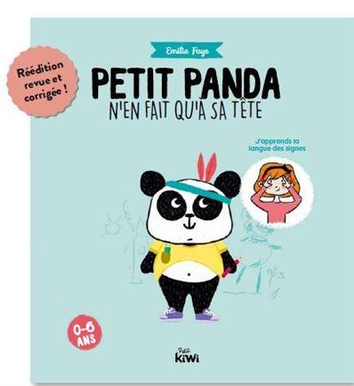 Petit panda n'en fait qu'à sa tête