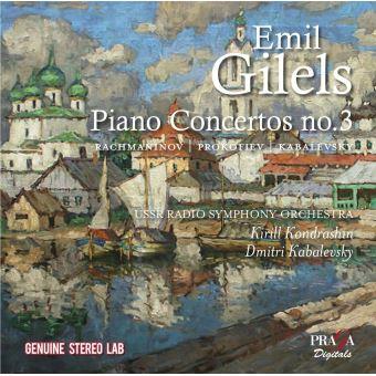 Sergueï Rachmaninov, Serge Prokofiev, Dmitri Borissovitch Kabalevsky, Emil Guilels