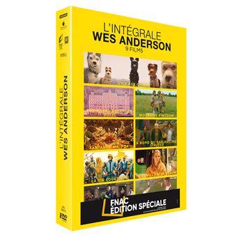 Coffret Anderson 9 Films Edition Spéciale Fnac DVD