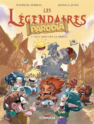 Les Légendaires - Parodia 02
