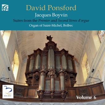SUITES FROM THE PREMIER AND SECOND LIVRES D'ORGUE