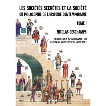 Les societes secretes et la societe,1
