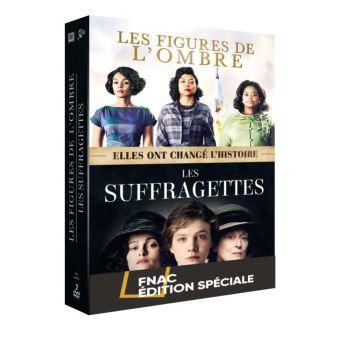 Coffret Les figures de l'ombre, Les suffragettes Edition spéciale Fnac DVD