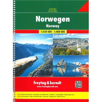 Norwegen 1 : 400 000. europa 1 : 3 500 000. autoatlas