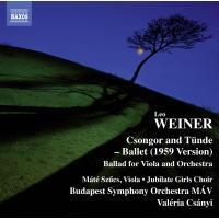 Csongor and Tunde Ballet 1959 Ballade pour clarinette et orchestre