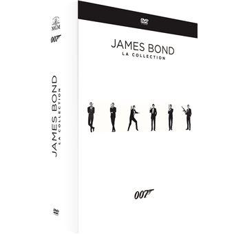 James BondCoffret James Bond 007 L'Intégrale 24 Films DVD