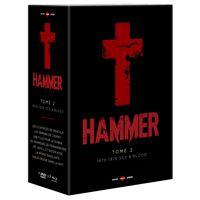 Coffret Hammer : Tome 2 1970-1976 Sex And Blood Edition Limitée et Numérotée Combo Blu-ray DVD