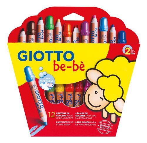 24 crayons de couleur Giotto couleurs 3.0 Crayons