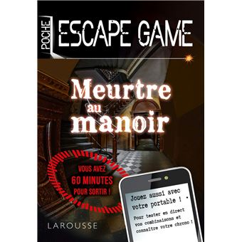 Escape Game De Poche Meurtre Au Manoir