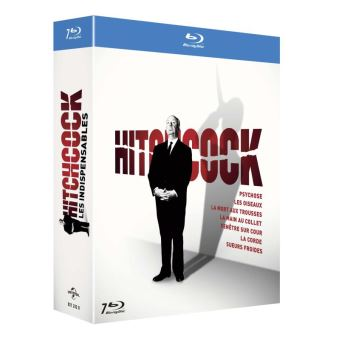 Coffret Alfred Hitchcock Les 7 films indispensables Blu-ray