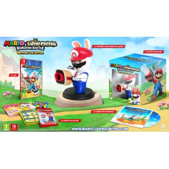 Mario et Les Lapins Crétins Kingdom Battle Edition Collector Nintendo Switch